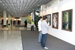 Die Kunst-Ausstellung Malaysia 2010 Stockfotos