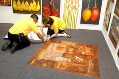 Die Kunst-Ausstellung Malaysia 2010 Lizenzfreie Stockfotos