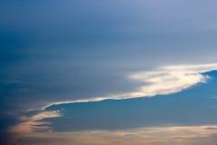 Die Kunst der Wolke von Natur aus Stockfotos