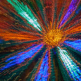 Die Kunst des hellen Blumenauszuges Stockbilder