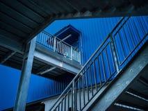 Die Kunst des Treppenhaustreppenhauses stockfotografie