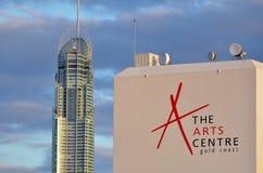 Die Kunst-Mitte Gold Coast Australien Lizenzfreie Stockfotografie