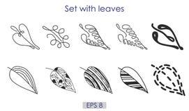 Die Kunst, die Satz des Vektors skizziert, lässt Symbole Vektor Abbildung