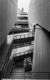 Die Kunst von Elementen der Straße und der Architektur stockfotografie