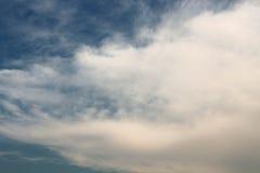 Die Kunstansicht der Wolke Stockfoto