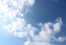Die Kunstansicht der Wolke lizenzfreie stockfotos