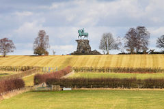 Die kupferne Pferden-Statue Windsor im Großen Park stockfotografie