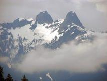 Die Löwe-Berge Stockfoto
