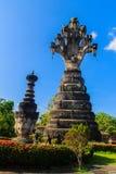 Die Lage von 7 Köpfe Naga (König von Nagas) overspreaded seine 7 h Lizenzfreies Stockfoto