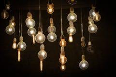Die Lampen stockbild