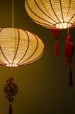Die Lampen für das Hahnjahr Lizenzfreie Stockfotos