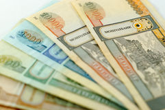 Die Landeswährung von Mongolei Lizenzfreie Stockfotografie