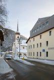 Die Landkirche nahe von der Straße stockfotografie