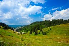 Die Landschaft in Bulgarien Lizenzfreies Stockbild