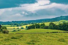 Die Landschaft in Dartmoor Stockfotos