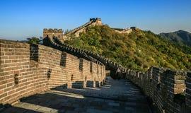 Die Landschaft der Chinesischen Mauer stockfoto