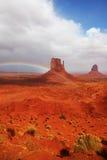 Die Landschaft des Denkmal-Tales lizenzfreie stockfotografie