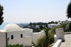 Die Landschaft des Tunesiers lizenzfreie stockbilder