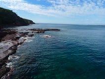 Die Landschaft im merimbula, Australien Stockbilder