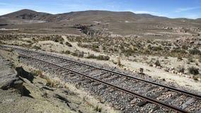 Die Landschaft nahe Sumbay, Süd-Peru Lizenzfreie Stockbilder