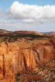Die Landschaft von einer Übersichtsplattform Lizenzfreies Stockbild