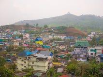 Die Landschaft von Munnar, Kerala, Indien Lizenzfreies Stockbild