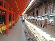Die Landschaft von Nara Lizenzfreies Stockbild