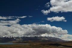 Die Landschaft von Tibet lizenzfreies stockbild