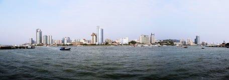 Die Landschaft von Xiamen stockfotos