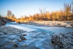 Die langsame Wasserführung Stockfoto
