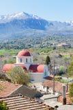 Die Lassithi-Hochebene in den Bergen von Kreta Stockfoto