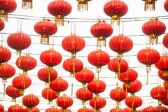 Die Laternen des traditionellen Chinesen Lizenzfreie Stockfotos