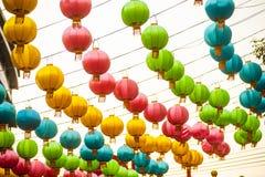 Die Laternen des traditionellen Chinesen Lizenzfreies Stockfoto