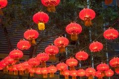 Die Laternen des traditionellen Chinesen Lizenzfreie Stockbilder