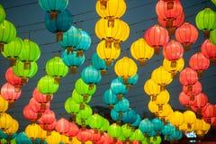 Die Laternen des traditionellen Chinesen Lizenzfreies Stockbild
