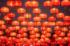 Die Laternen des traditionellen Chinesen Stockbild