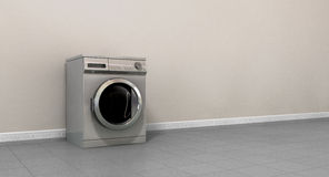 Die leere Waschmaschine sondern aus Lizenzfreie Stockfotos