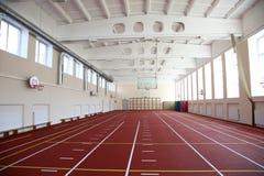Die Leichtathletikhalle Stockfotos