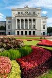 Die lettische nationale Oper in Riga lettland Stockfoto