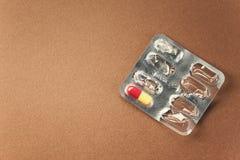 Die letzte Pille Stockfoto