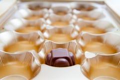 Die letzte Schokolade stockfotografie