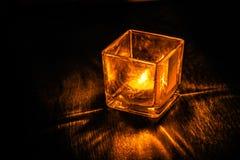 Die Leuchte in der Dunkelheit Lizenzfreies Stockbild