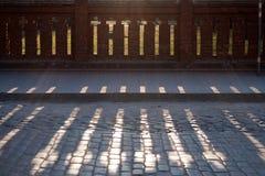 Die Leuchte der Kreuze im Schatten Lizenzfreies Stockbild