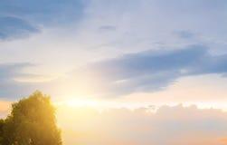 Die Lichter einer Sonne Lizenzfreies Stockfoto