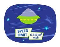 Die Lichtgeschwindigkeit Lizenzfreie Stockfotos