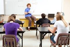 Die Liebe des Unterrichtens Lizenzfreies Stockfoto