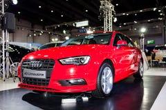 Die Limousine Audis A3 Stockfotografie
