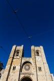 Die Lissabon-Kathedrale ist Roman Catholic Cathedral Lisbon stockbild