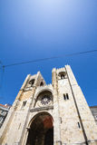 Die Lissabon-Kathedrale ist Roman Catholic Cathedral Lisbon lizenzfreies stockfoto