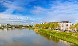 Die Loire in Nantes, Frankreich stockfoto